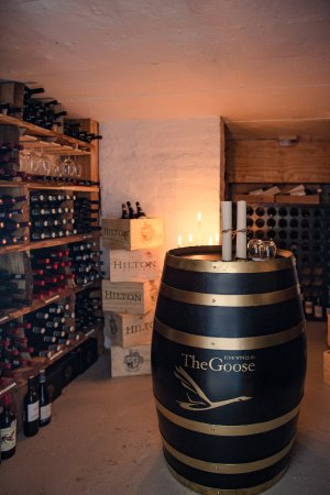 Head Over Hills: Wine cellar