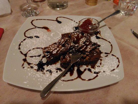 Morlupo, Italia: Fondente al cioccolato. Favoloso!