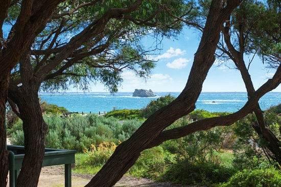 Hamelin Bay Holiday Park: Ocean View Cottage view