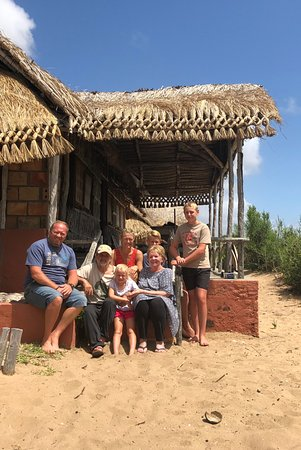 Inhambane, Mozambique: Chalet 6with good view of sea & reef.