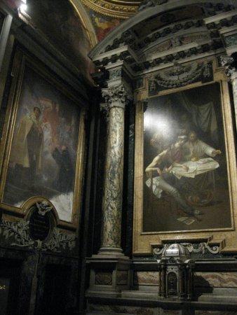 Santa Maria in Montesanto: Particolare interno