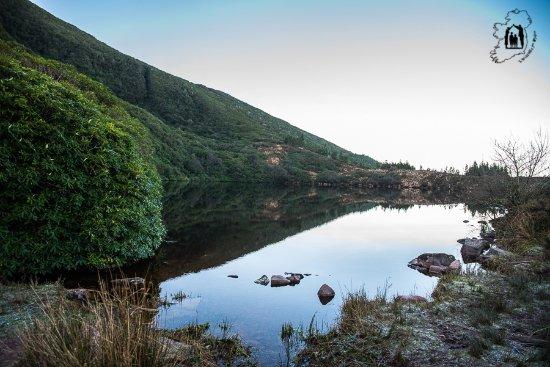 Bay Lough: Widok na jezioro.