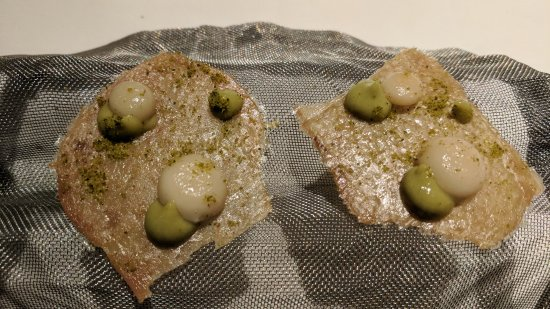 Thai Green Curry - Dehydrated Chicken Skin - Picture of