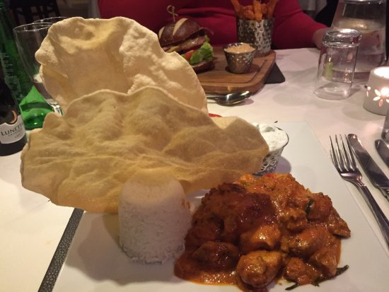 Mayfield, UK: Curry