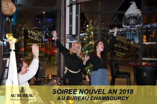 Soirée nouvel an photo de au bureau chambourcy
