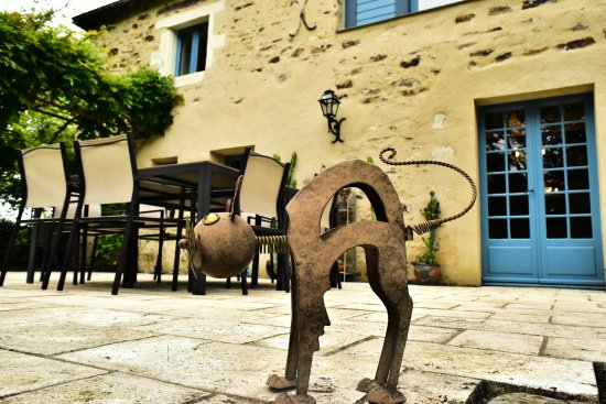 Thorigne d'Anjou, France: terrasse du rideau mine