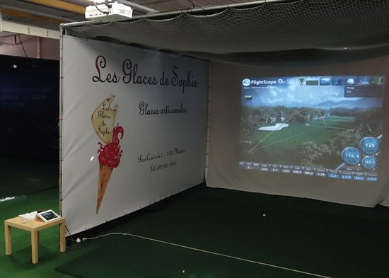 Golf indoor à Moutier
