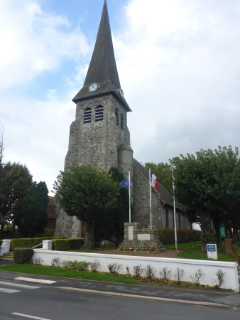 Located Outside the Bullecourt Eglise