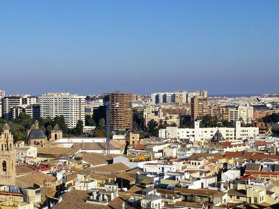 Valencia dall'alto del Miguelete.