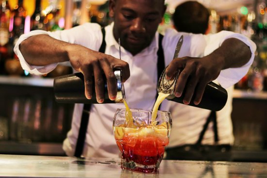 Telford, UK: Caribbean Punch