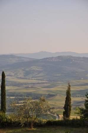 Hotel Corsignano - Pienza: View from our balcony