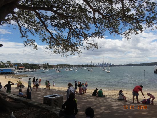 Watsons Bay, Αυστραλία: Holiday crowd