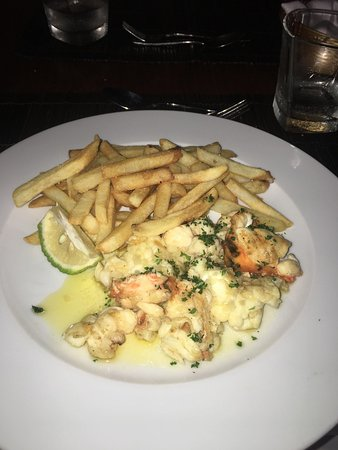 Laluna: Lobster and Fries - Delicious