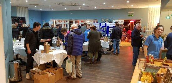 Farleigh Road Farm Shop: Our Christmas Sample evening in 2017