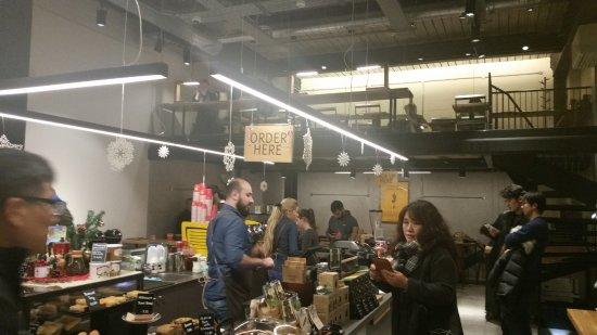 Inside Picture Of Coffee Island Uk London Tripadvisor