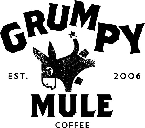 Denshaw, UK: Quality Grumpy Mule Coffee beans used and sold in our coffee shop