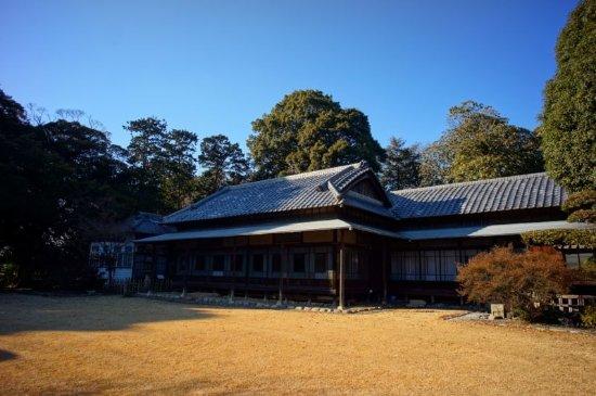 Tatebayashi, اليابان: 旧秋元別邸の庭側です