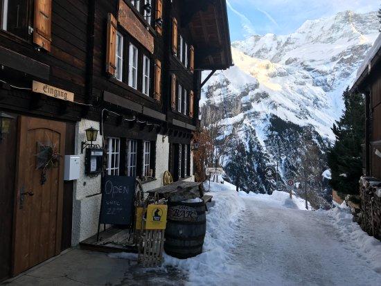 Gimmelwald, Schweiz: Outside