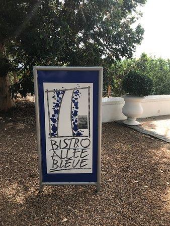 Allee Bleue: bistro