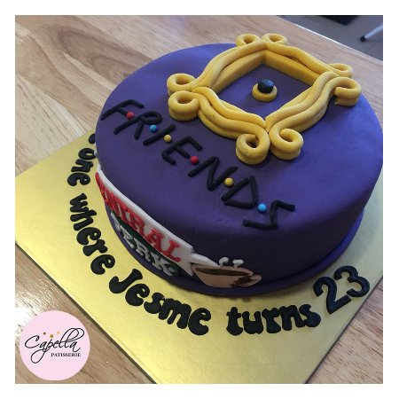 Miraculous Friends Themed Cake Picture Of Capella Patisserie Mangalore Funny Birthday Cards Online Alyptdamsfinfo