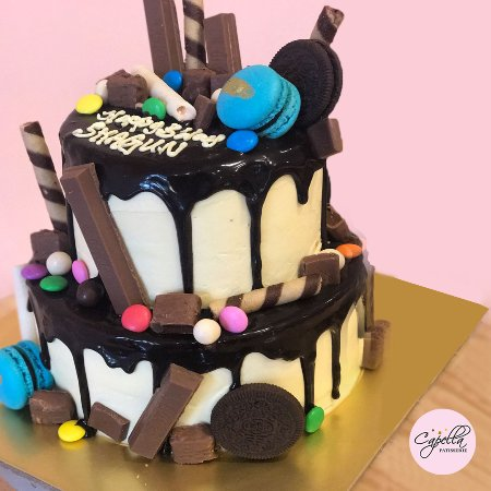 Brilliant Customized Birthday Cake Picture Of Capella Patisserie Funny Birthday Cards Online Aeocydamsfinfo