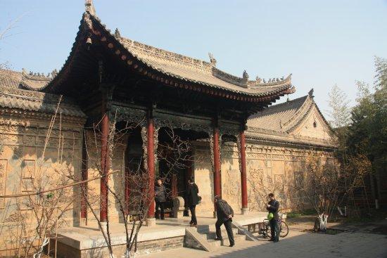 Entrée d\'une maison - Picture of Xi\'an Guanzhong Folk Art Museum, Xi ...