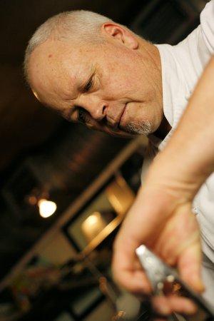 Savoy Cabbage: CHEF PETER AT WORK