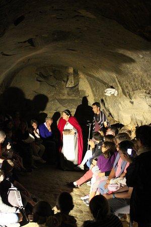 Saint-Sulpice-la-Pointe, Γαλλία: Visite théâtralisées de l'été avec l' AGIT - souterrain médiéval du Castela