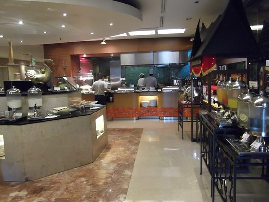 Hotel Borobudur Jakarta: retaurant