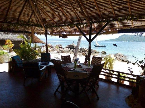 Nosy Komba, Madagaskar: Salle à manger