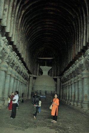 Bhaja Caves: Karla, Chaity hall