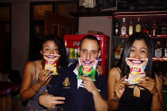 Saphli, Thailand: Personnel super sympa