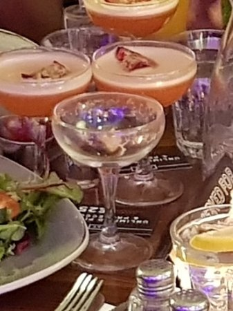 cocktail glass in January 2018