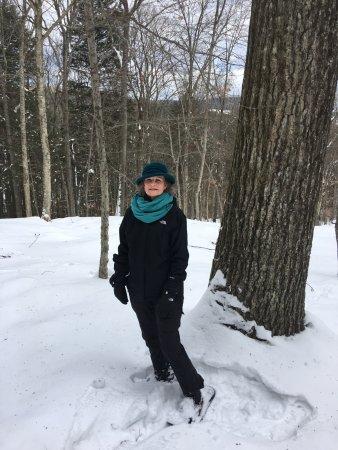 Woodstock Inn and Resort: Snowshoeing