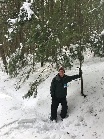 Woodstock Inn and Resort: Snowshoeing