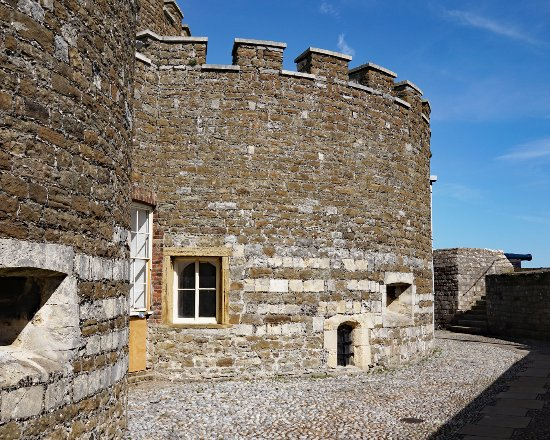 This an outer bastion of Deal Castle.