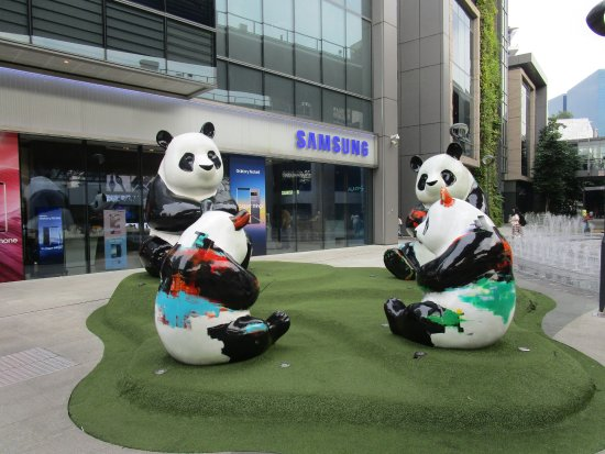 Westgate Shopping Mall: Panda