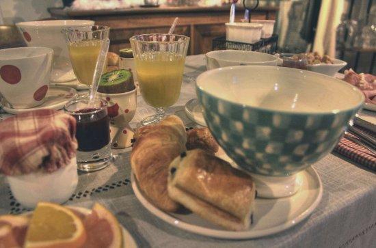 La Chevalee : Petit déjeuner