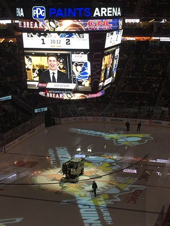 Ppg paints arena pittsburgh pa updated 2018 top tips for Hotels close to ppg paints arena
