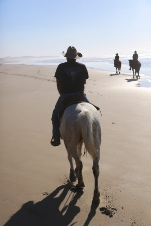 La Mision, Meksyk: lovely beach ride
