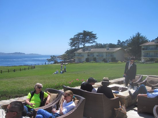 The Lodge At Pebble Beach Northern View From Bench