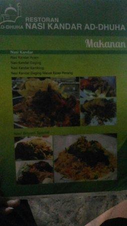Nasi Kandar Ad-Dhuha - Picture of Nasi Kandar Ad-Dhuha, Sri