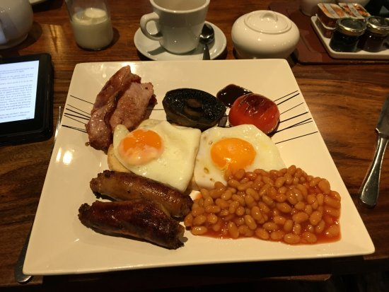 Bentham, UK: Breakfast!