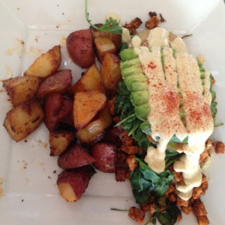 Culver City, CA: brunch special that had doughy bottom