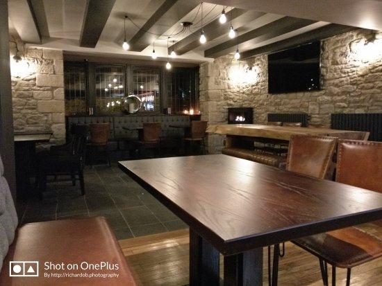 Allensford, UK: Quiet bar area