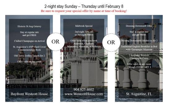 Bayfront Westcott House Bed & Breakfast: #GivingTheReason #JustDoIt #FirstTripOfTheYear
