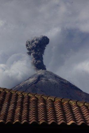 Alotenango, Guatemala: A bigger eruption