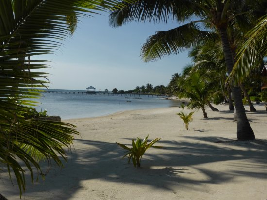 El Pescador Resort: Down the beach from the pier