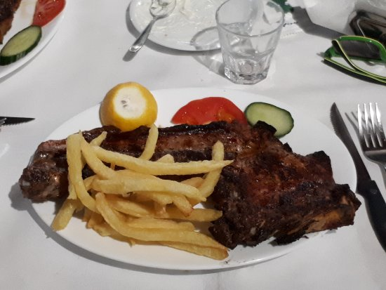 Armeni, Griechenland: pork ribs