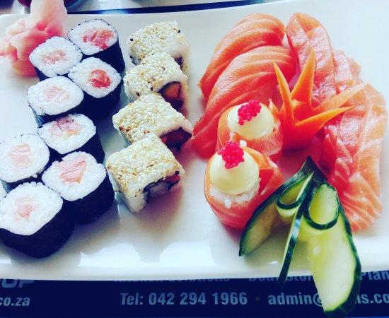 Saint Francis Bay, África do Sul: Sushi! #cHristy'scatch